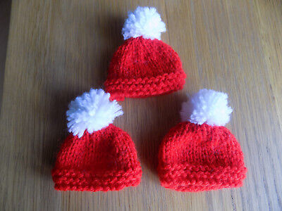 Ferrero Rocher hand knitted Easter/Santa hat covers x 3