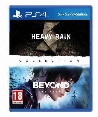 Heavy Rain & Beyond Two Souls Remastered Collection PS4 Game New and Sealed