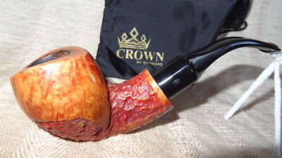 Pfeife, pipe, pipa Poul Winslow, Crown Viking, handmade, 9mmFi.