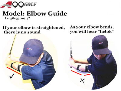 A99 Golf Swing Trainer Elbow guide Training Aids Correction Size S