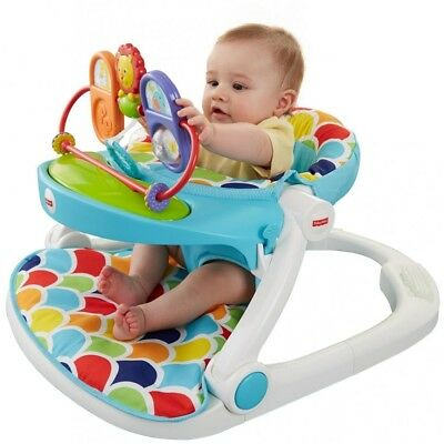 Fisher-Price Sit Me Up Floor Seat With Toy Tray Brand New Factory Sealed