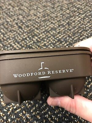 Woodford Reserve 2 Piece  Ball Ice Cube Tray 🥃 Great Stocking Stuffer