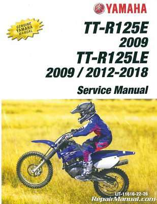 Yamaha Ttr110 Service Amp Repair Manual Ttr 110 Ttr110e 2008
