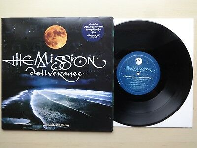 """The Mission - Deliverance 10"""", 45 RPM, Limited Edition Mercury - MYTH 910"""