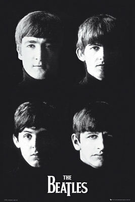 The Beatles With The Music Rock Pop Maxi Poster Print 61x91.5cm | 24x36 inches