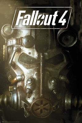 Fallout 4 Mask Gaming Maxi Poster Print 61x91.5cm | 24x36 inches