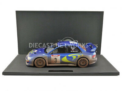 TOP MARQUES COLLECTIBLES 1998 1//18 SUBARU IMPREZA PLAIN BODY TOP40AW
