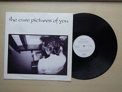 """The Cure - Pictures Of You 12"""", 45 RPM, Single Polydor - 873 909-1, Fiction"""