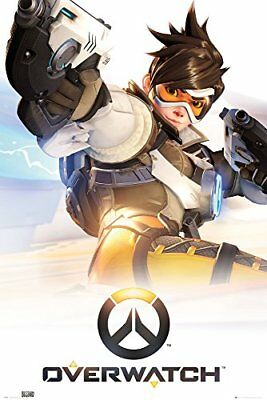 Overwatch Key Art Gaming Maxi Poster Print 61x91.5cm | 24x36 inches