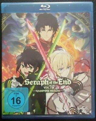 Seraph of the End: Vampire Reign/Ep. 01-12 Vol. 1 Blu ray  (2016)