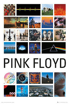 Pink Floyd Collage 2 Music Prog Rock Maxi Poster Print 61x91.5cm | 24x36 inches