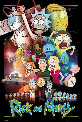 Rick and Morty Wars Maxi Poster 61x91.5cm | 24x36