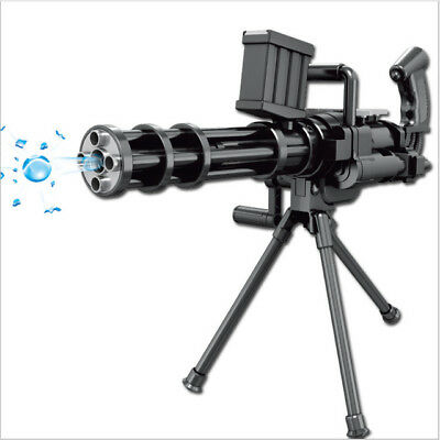 Water Blaster Vulcan M134 Electric Toy Galting Minigun Gun GelBlaster Heavy Chil