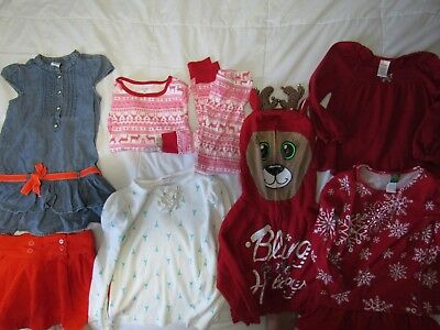 Girls Back to School Clothing Lot 5T 5 6 Gymboree Justice Dollie and me GRUC