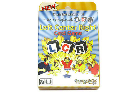 The Original LCR Left Center Right Card Game