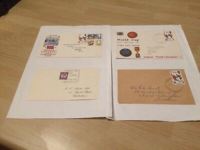 World Cup Football 1966 Stamps First Day Cover