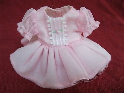 """Madeline 8"""" Doll Very Pretty Pink Satin & Tulle Party Dress Rare Excellent!!"""