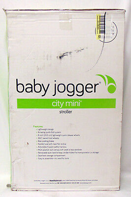 Baby Jogger City Mini 3-Wheel Single Stroller New In Box