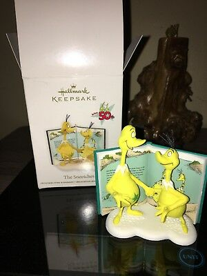 2011 THE SNEETCHES Dr Seuss Book NEW Hallmark 50th Anniversary Ornament YELLOW