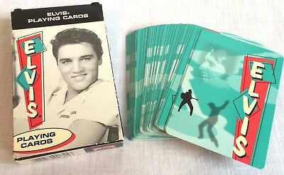 Elvis Bicycle Playing Cards 1 Deck in Box Each Card a Different Presley Photo