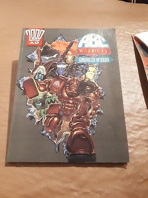 2000AD comics: ABC Warriors: Khronicles of Khaos TPB. Sc--fi comics