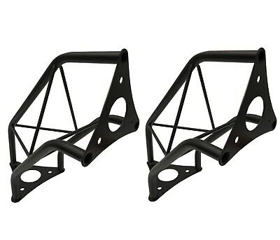 """(2) Two Black Metal Corners Mini 6"""" Bolted Triangle Trusses DJ Lighting Arch"""