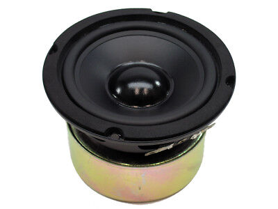 "4"" Poly Cone Woofer, Rubber Edge, Gw-4028, 100 Watts, 8 Ohms, Closeout"