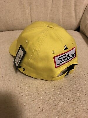 Titleist Jarrod Lyle Yellow Cap   Hat 739d2c88f07