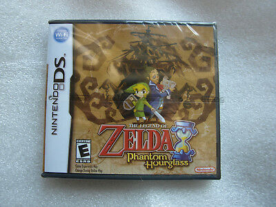 The legend of Zelda : Phantom Hourglass : BRAND NEW : boxed and sealed : for DS