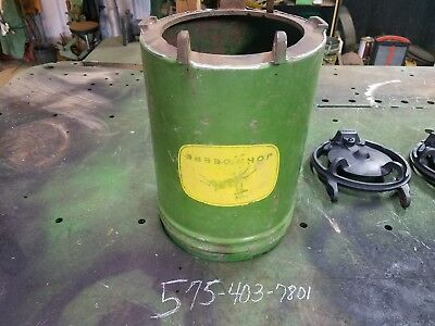 John Deere 1 row  seed hopper with bottom ring late style