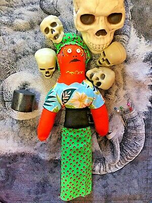 WICCA PRIESTESS EVIL Voodoo Doll Amacie Haunted Active - $23 99