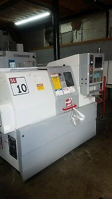 Used Haas ST-10 CNC Turning Center Lathe 2004 mfg
