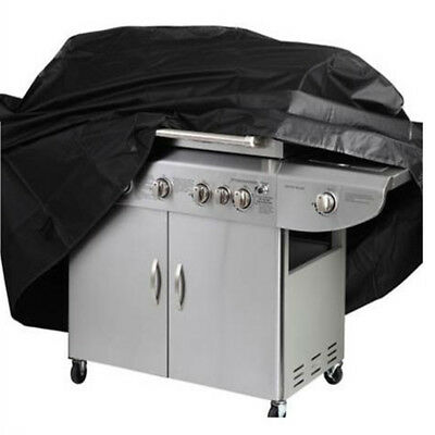 Black BBQ Cover Heavy Duty Waterproof Rain Barbeque Grill Gas Garden Protector M