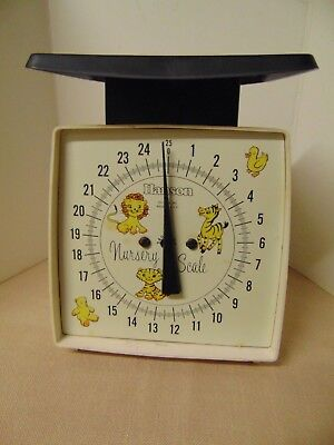 Vtg Hanson Baby Nursery Scale -  Scale Only - No Basket Made in USA