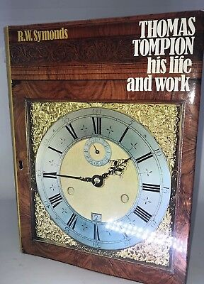 Thomas Tompion: His Life and Works by Symonds, R.W. Hardback Book The Fast Free