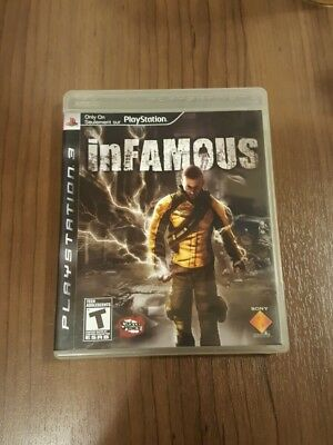 inFamous -- Sony PlayStation 3 PS3 -- CONDITION B+