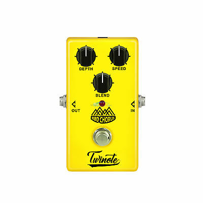 Twinote BBD Chorus Analog Clean Chorus Effects Guitar Pedal with True Bypass