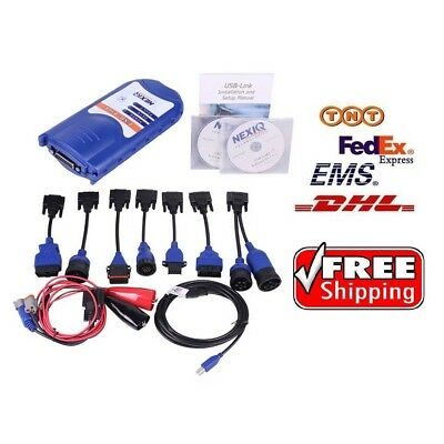 NEXIQ USB Link Truck Fault Diagnosis Tester with Software Diesel Truck Interface