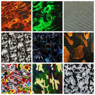 Car Wrap Hydrographic Water Transfer Hydro Dipping Decals Stickers Films Print