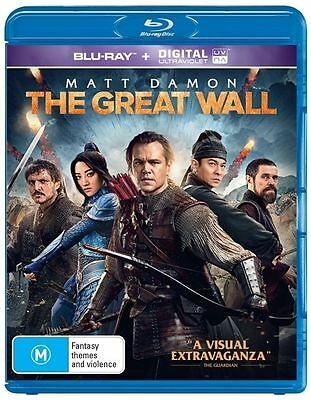 The Great Wall (Blu-ray, 2017)