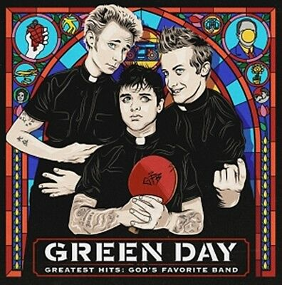 Green Day - Greatest Hits : God's Favorite Band Album CD Sealed