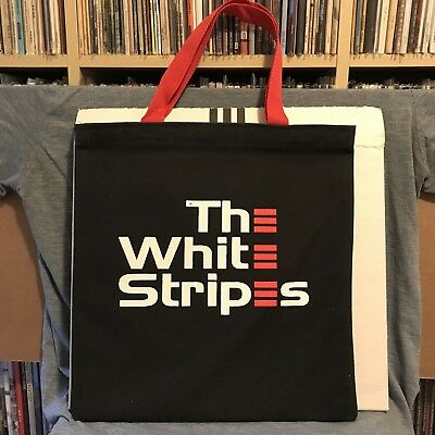 WHITE STRIPES Peppermint LP Record Tote Bag TMR Vault 13 Jack Meg Third Man