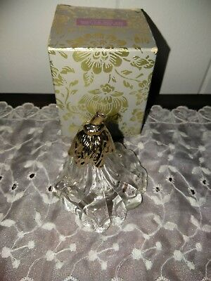 Vintage Avon - Collectible TULIP GLASS Figurine Perfume Bottle with Original Box