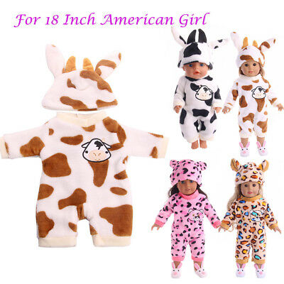 Cute Handmade Pajama Clothes Accessories For 18 inch Girl Doll Toys