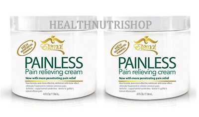 2x Eternal Painless Pain Relieving Cream Set of 2 Free Shipping