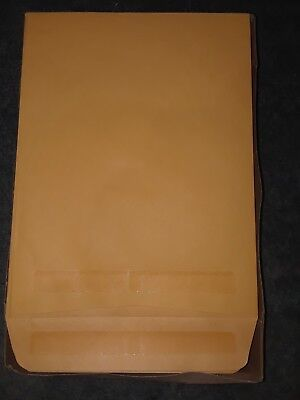 Clasp Envelope, 9 x 12, 28lb, Brown Kraft, 100/Box