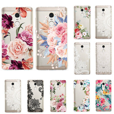 For Xiaomi Redmi Note 4X 6 Pro 5 Slim Soft Silicone Clear Painted TPU Case Cover