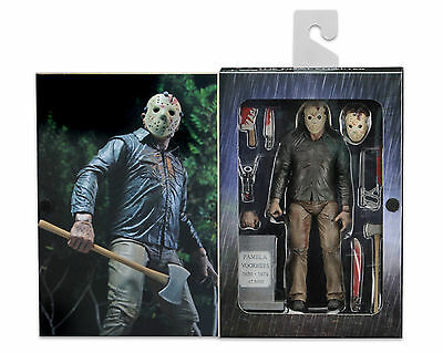 "NECA Friday the 13th Part 4 (IV) Final Chapter JASON VOORHEES 7"" Ultimate Figure"