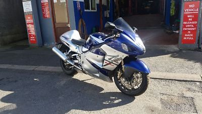 2005 Suzuki hayabusa complete bike rolling chassis /frame with full V5