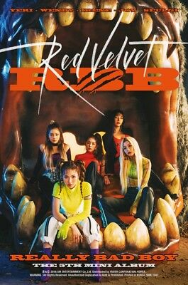K-POP RED VELVET 5th Mini Album [RBB] CD + 56p Photobook + Photocard Sealed